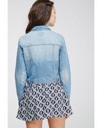 Forever 21 | Blue Denim Jacket | Lyst
