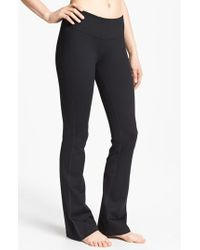Zella | Black 'barely Flare Booty' Pants | Lyst