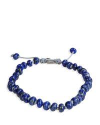 M. Cohen - Blue Bracelet for Men - Lyst