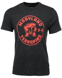 Under Armour Gray Men's Maryland Terrapins Legacy T-shirt for men