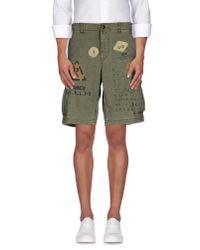 Denim & Supply Ralph Lauren | Green Bermuda Shorts for Men | Lyst