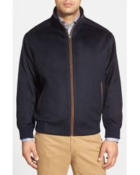 Peter Millar - Blue 'patrick' Water Resistant Wool Blend Jacket for Men - Lyst