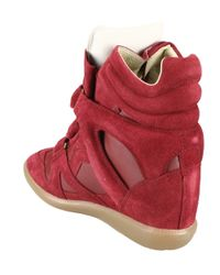Isabel Marant | Red High-tops & Trainers | Lyst