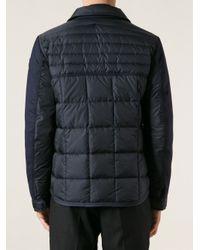 Moncler Blue Ryan Padded Jacket for men