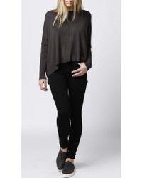 Azalea | Gray Seneca Boxy Sweater | Lyst