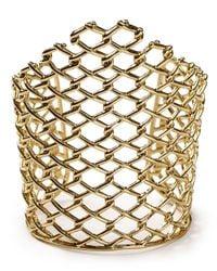 Alexis Bittar | Metallic Asymmetric Barbed Link Cuff | Lyst