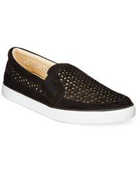 Nine West | Black Banter Slip-on Sneakers | Lyst