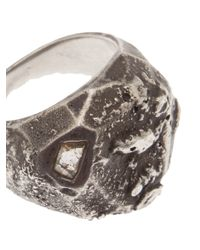 Beth Orduna | Metallic Faceted Dome Ring | Lyst