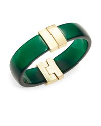 Karen Kane | Green Dahlia Cuff Bracelet | Lyst