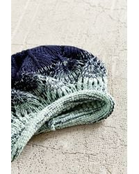 Urban Outfitters | Blue Ombre Rolled Edge Beret | Lyst