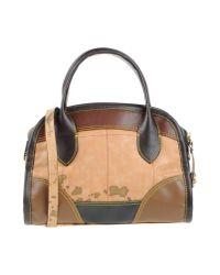 Alviero Martini 1A Classe - Brown Handbag - Lyst