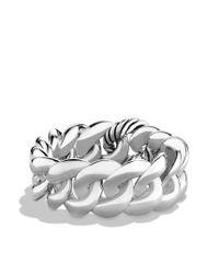 David Yurman - Metallic Curb Link Bracelet - Lyst