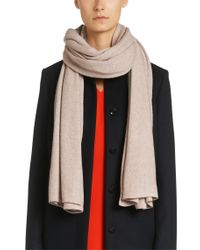 BOSS Natural 'lolasa' | Cashmere Virgin Wool Yak Scarf