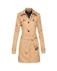 Tommy Hilfiger | Natural Heritage Trench Coat | Lyst