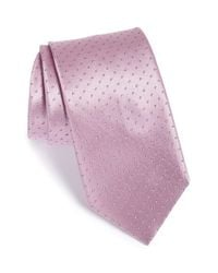 Brioni | Purple Polka Dot Silk Tie for Men | Lyst