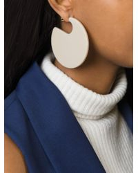 Marni - Natural Round-shaped Earrings - Lyst