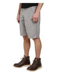 Carhartt | Gray Tacoma Ripstop Short for Men | Lyst