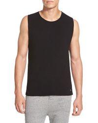 Alexander Simai - Black 'fashion Gym' Muscle Tank for Men - Lyst