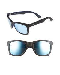 Revo | Black 'huddie' 54mm Polarized Sunglasses for Men | Lyst
