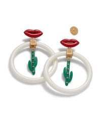Tory Burch | Multicolor Sylvan Cactus Earring | Lyst