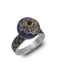 Emma Chapman Jewels | Metallic Lapiz Star Diamond Ring | Lyst