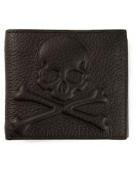 Philipp Plein Black Skull Wallet for men