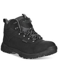 Weatherproof | Black Men's Jackson Hiker Boots for Men | Lyst