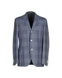 Boglioli Blue Blazer for men