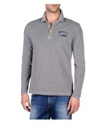 Napapijri   Gray Polo Shirt for Men   Lyst