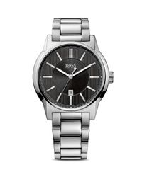 BOSS - Metallic Black Stainless Steel Watch, 44mm for Men - Lyst