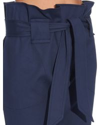 Vivienne Westwood Anglomania Blue New Kung Fu High-rise Trousers