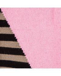 Paul Smith - Multicolor Women's Pink Ankle-stripe Socks - Lyst