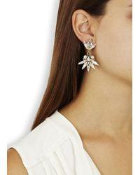 Anton Heunis | Metallic Gold Plated Cluster Drop Earrings | Lyst
