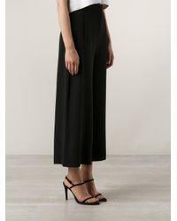 Proenza Schouler Black Cropped Culottes