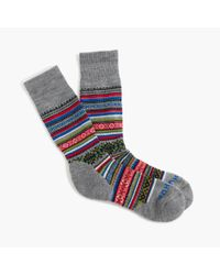 J.Crew | Multicolor Chup Smartwool Socks for Men | Lyst