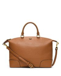 Tory Burch | Brown Frances Slouchy Satchel | Lyst