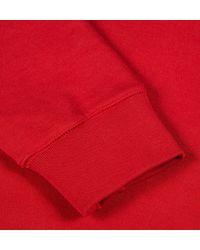 Sunspel Red Men's Loopback Cotton Sweatshirt for men