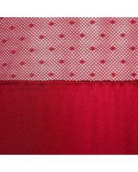 Stella McCartney - Red Mathilda Giggling Bodysuit - Lyst