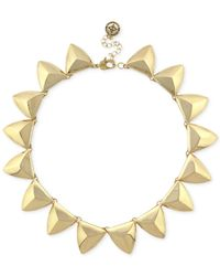 BCBGeneration | Metallic Gold-tone Geometric Necklace | Lyst