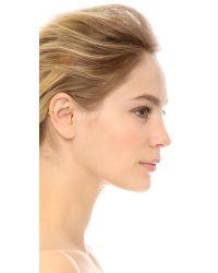 Sunahara - Metallic Double Plain Clip On Ear Cuff - Lyst