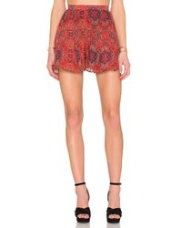 The Fifth Label | Red Age Of Aquarius Short | Lyst