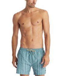 BOSS - Green 'salmon' | Quick Dry Swim Trunks for Men - Lyst