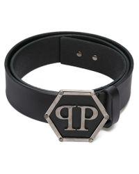 Philipp Plein - Black 'dakota' Belt for Men - Lyst
