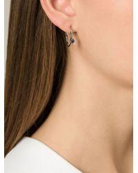 Puro Iosselliani | Metallic Sapphire Ring Earrings | Lyst