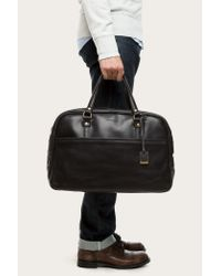 Frye | Black Richard Vintage Gym for Men | Lyst