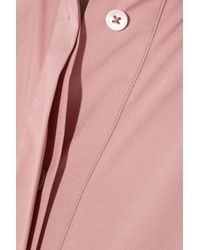 Jil Sander | Pink Cotton-blend Shirt | Lyst