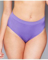 Wacoal Purple B-smooth High-cut Brief 834175