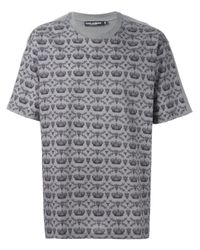 Dolce & Gabbana - Black Bee And Crown Print T-shirt for Men - Lyst