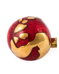 True Rocks Metallic 'globe' Earrings