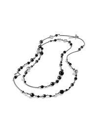 David Yurman | Metallic Quatrefoil Necklace | Lyst